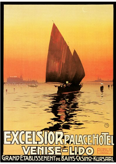 Travel Postcard - Excelsior Palace Hotel - Venise-Lido