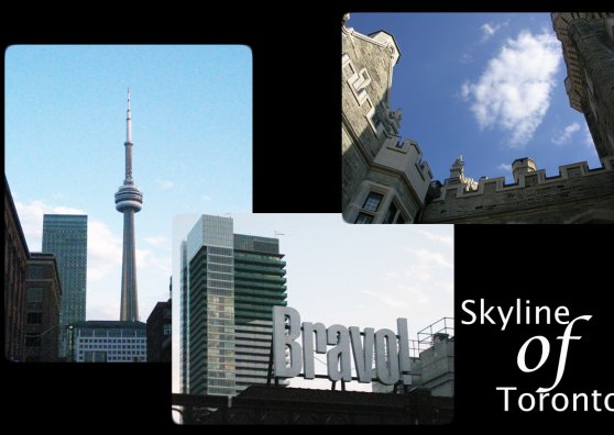 Travel Postcard - Toronto Skyline