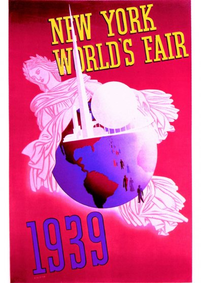 Travel Postcard - New York World's Fair 1939