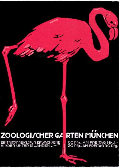 Travel Postcard - Munchen Zoologischer Garten