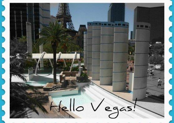 Travel Postcard - Vegas