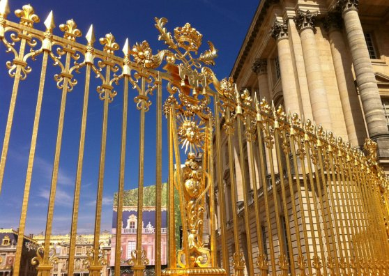 Travel Postcard - Versailles Palace, Paris