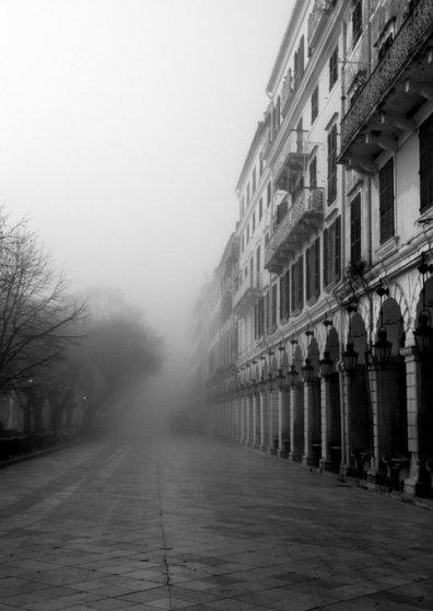 Travel Postcard - Corfu,Liston square 2