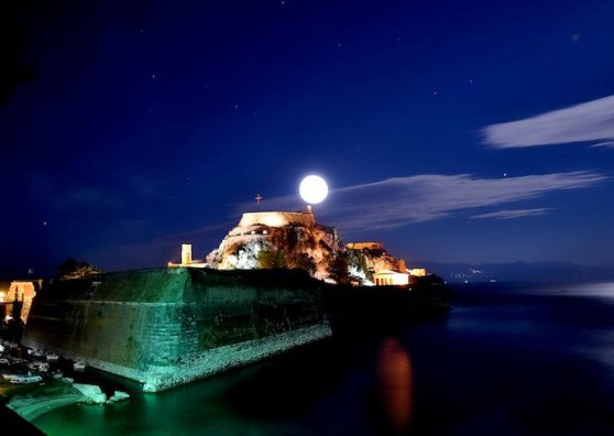 Travel Postcard - Corfu,Old Fortress 2
