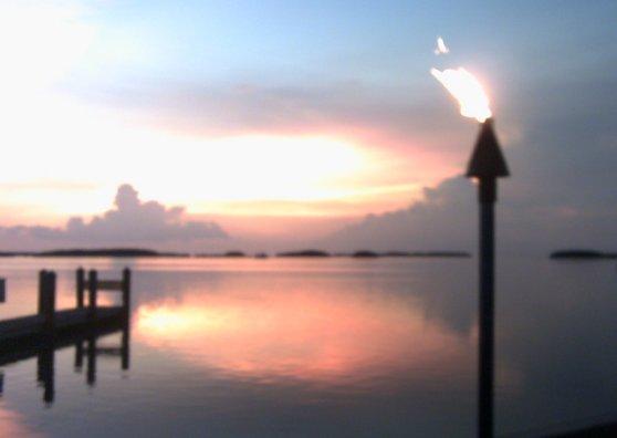 Travel Postcard - Islamorada Sunset