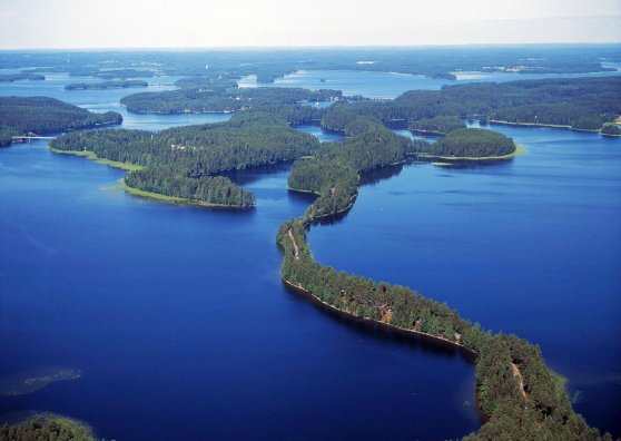 Travel Postcard - Saimaa Punkaharju Finland