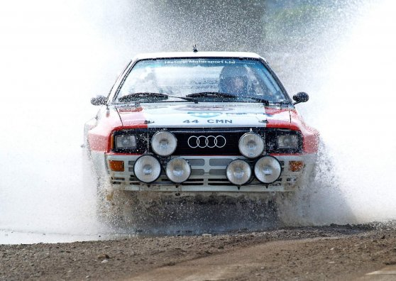Travel Postcard - Audi Quattro