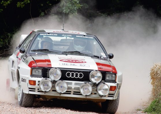 Travel Postcard - Audi Quattro