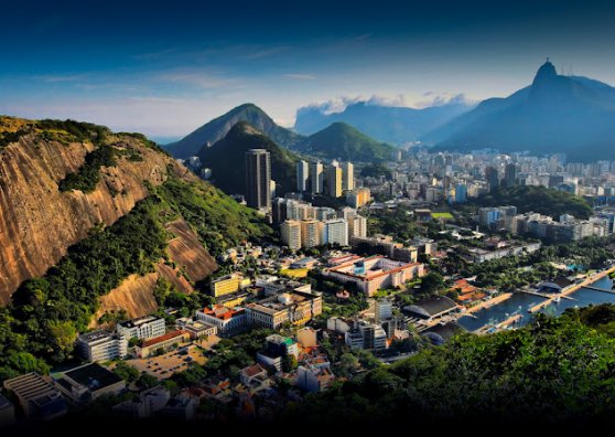 Travel Postcard - Rio de Janeiro - Brazil