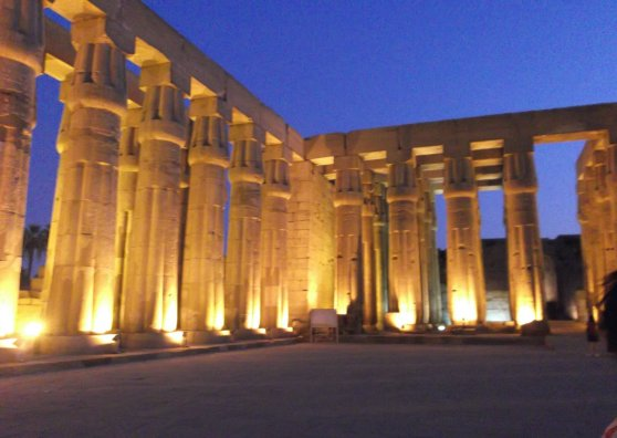 Travel Postcard - Temple of Luxor