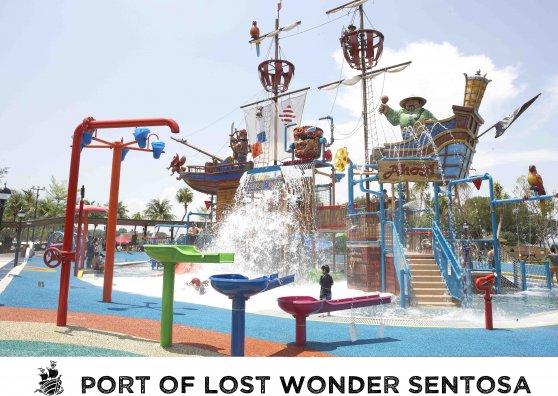 Travel Postcard - Port of Lost Wonder
