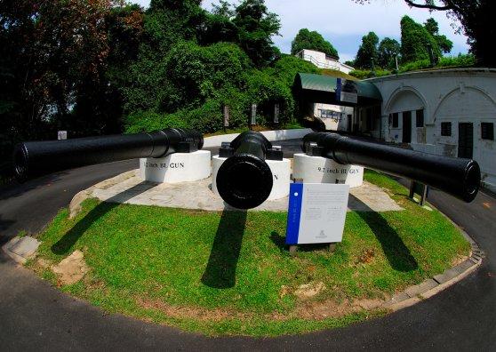 Travel Postcard - Fort Siloso