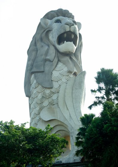 Travel Postcard - The Merlion