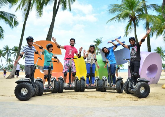 Travel Postcard - Segway Fun ride