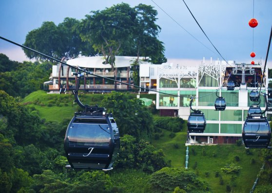 Travel Postcard - Jewel Cable car