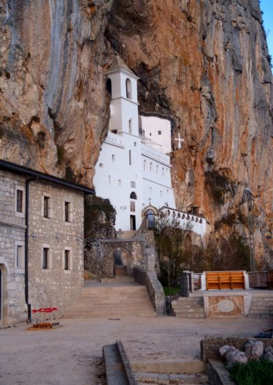 Travel Postcard - Ostrog