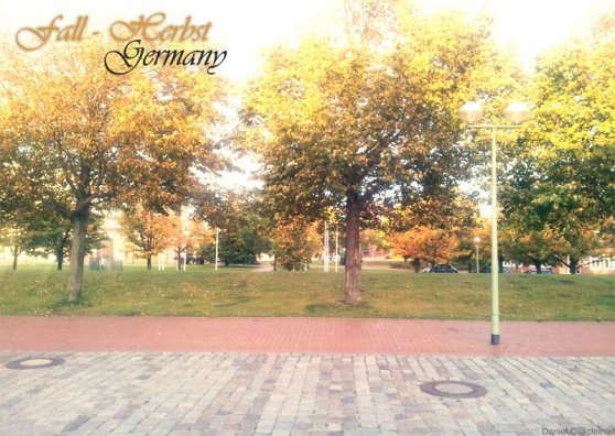 Travel Postcard - Herbst in Bremerhaven