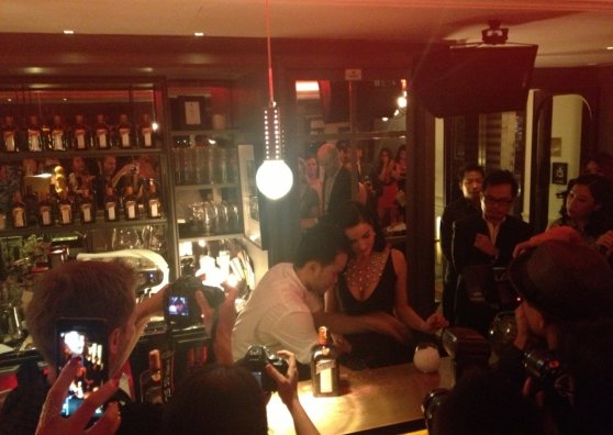 Travel Postcard - Dita Von Teese at L'Appart