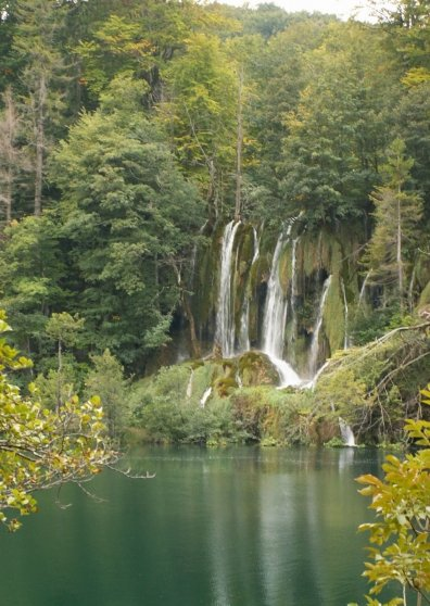 Travel Postcard - Plitvice lake