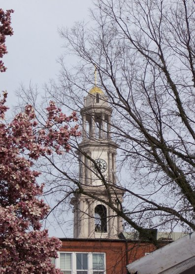 Travel Postcard - St John Spire ~ Frederick, MD