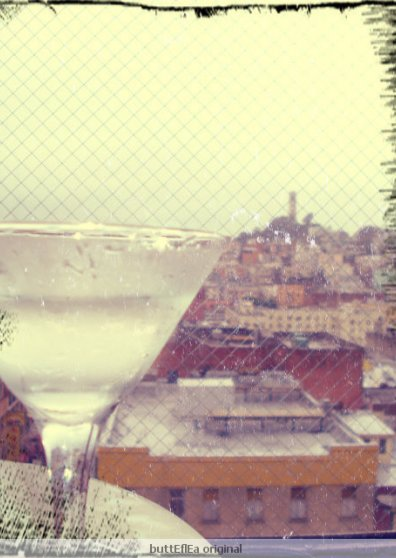 Travel Postcard - Martinis in Frisco