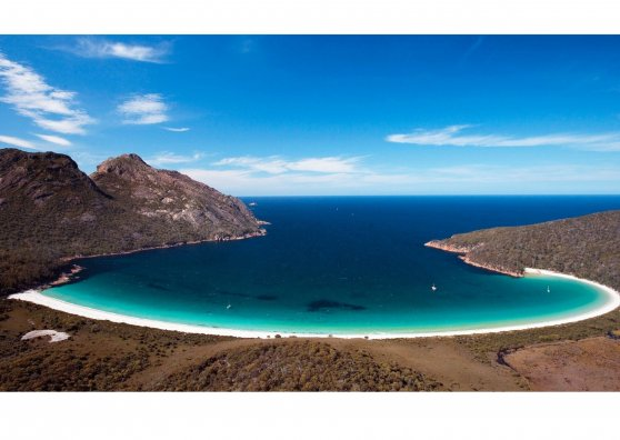 Travel Postcard - Wineglass Bay - Australia