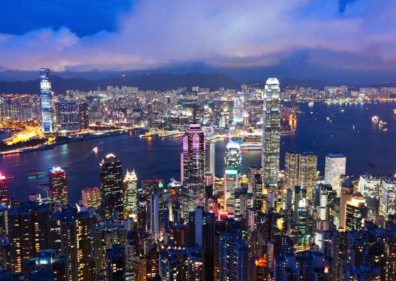 Travel Postcard - Hong Kong