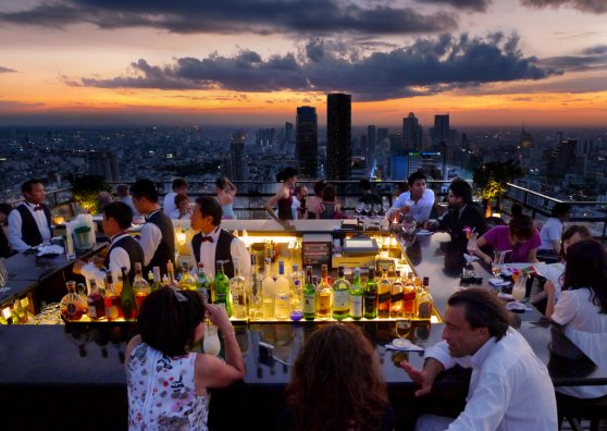Travel Postcard - Bangkok - Moonbar