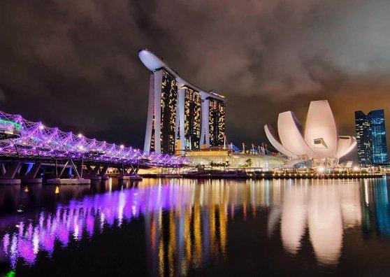 Travel Postcard - Singapore