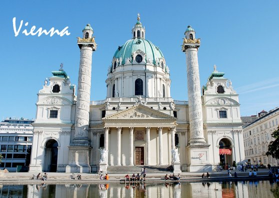 Travel Postcard - Vienna