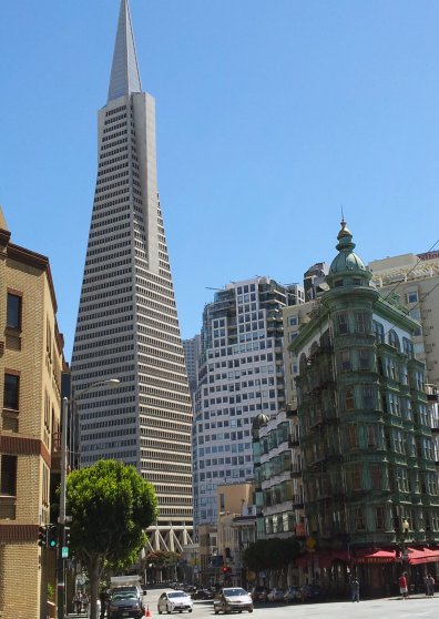 Travel Postcard - TransAmerica