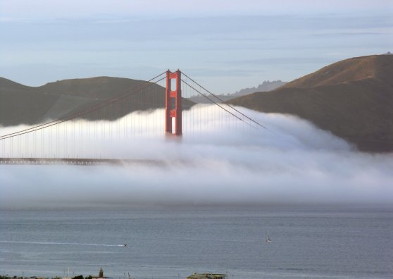 Travel Postcard - Waves Of Fog