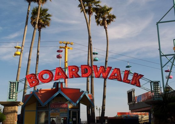 Travel Postcard - Boardwalk