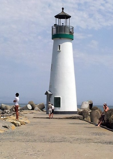 Travel Postcard - Santa Cruz Lighthouse