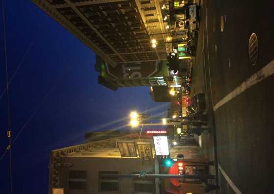 Travel Postcard - Dusk in the Tenderloin
