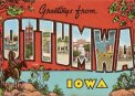 Travel Postcard - Iowa all the way