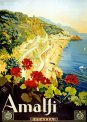 Travel Postcard - Amalfi