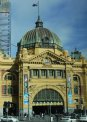 Travel Postcard - Flinders Street Station, Melbourne