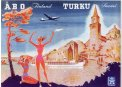 Travel Postcard - Turku - Finland