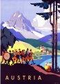 Travel Postcard - Austria and Orchestra