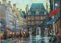 Travel Postcard - Place des Vosges