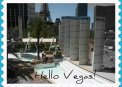 Travel Postcard - Vegas
